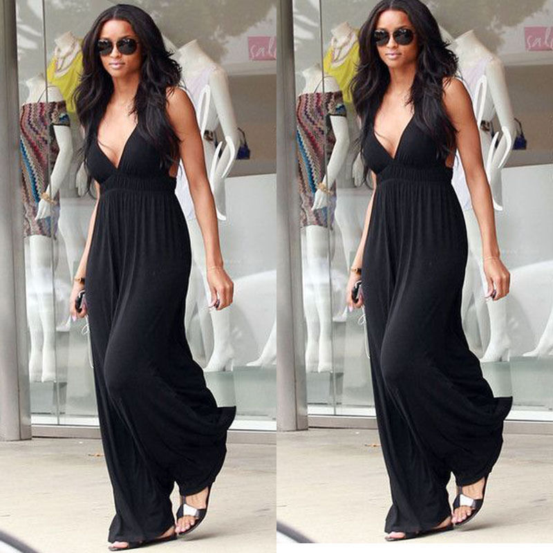 2019 Summer Women 39 s Beach Dresses Personality Slim Tunic Long Casual sleeveless maxi sexy boho elegant ladies Dresses befree in Dresses from Women 39 s Clothing