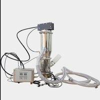 Transportador de vacío neumático QVC-1 polvo transportado a otras máquinas alimentador de vacío de acero inoxidable