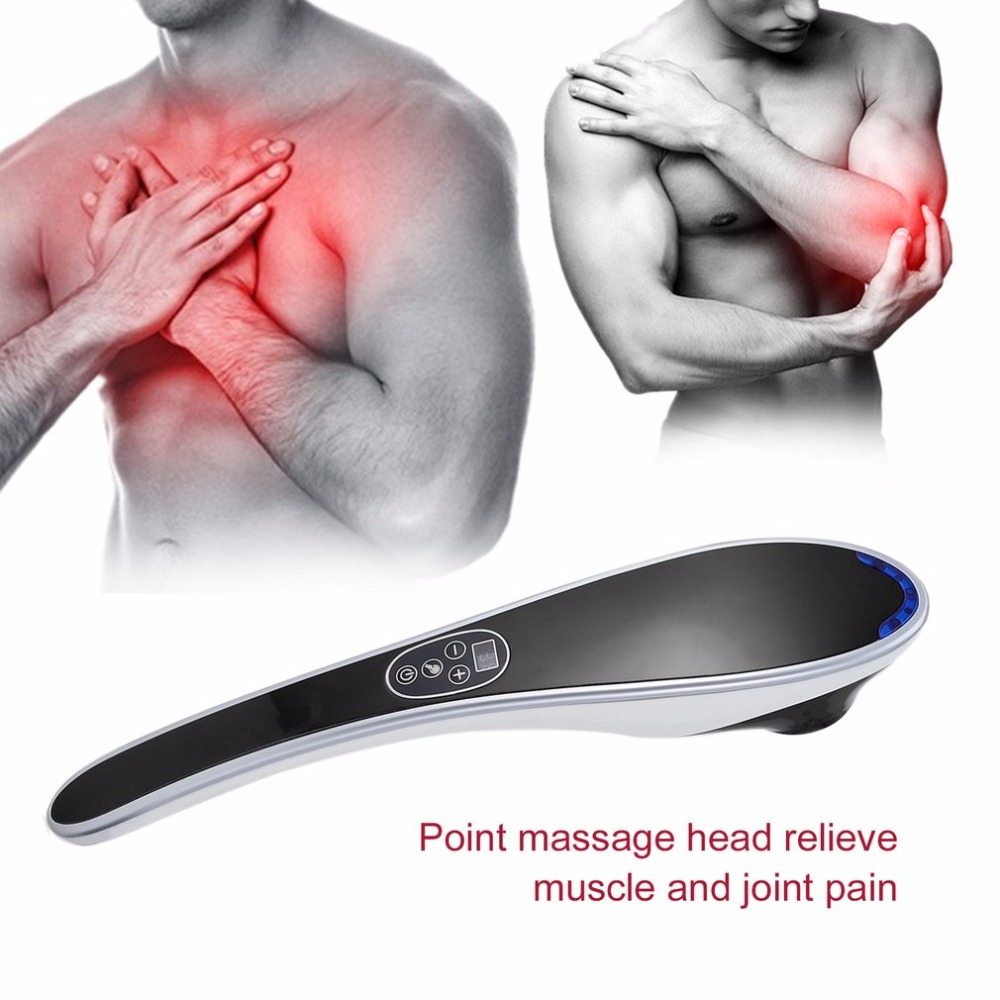 Electric Cervical Vertebra Massager Body Relaxation Device Vibrating Kneading Shoulder Back Neck Massager Infrared Massage набор фарфоровой посуды king wo 56
