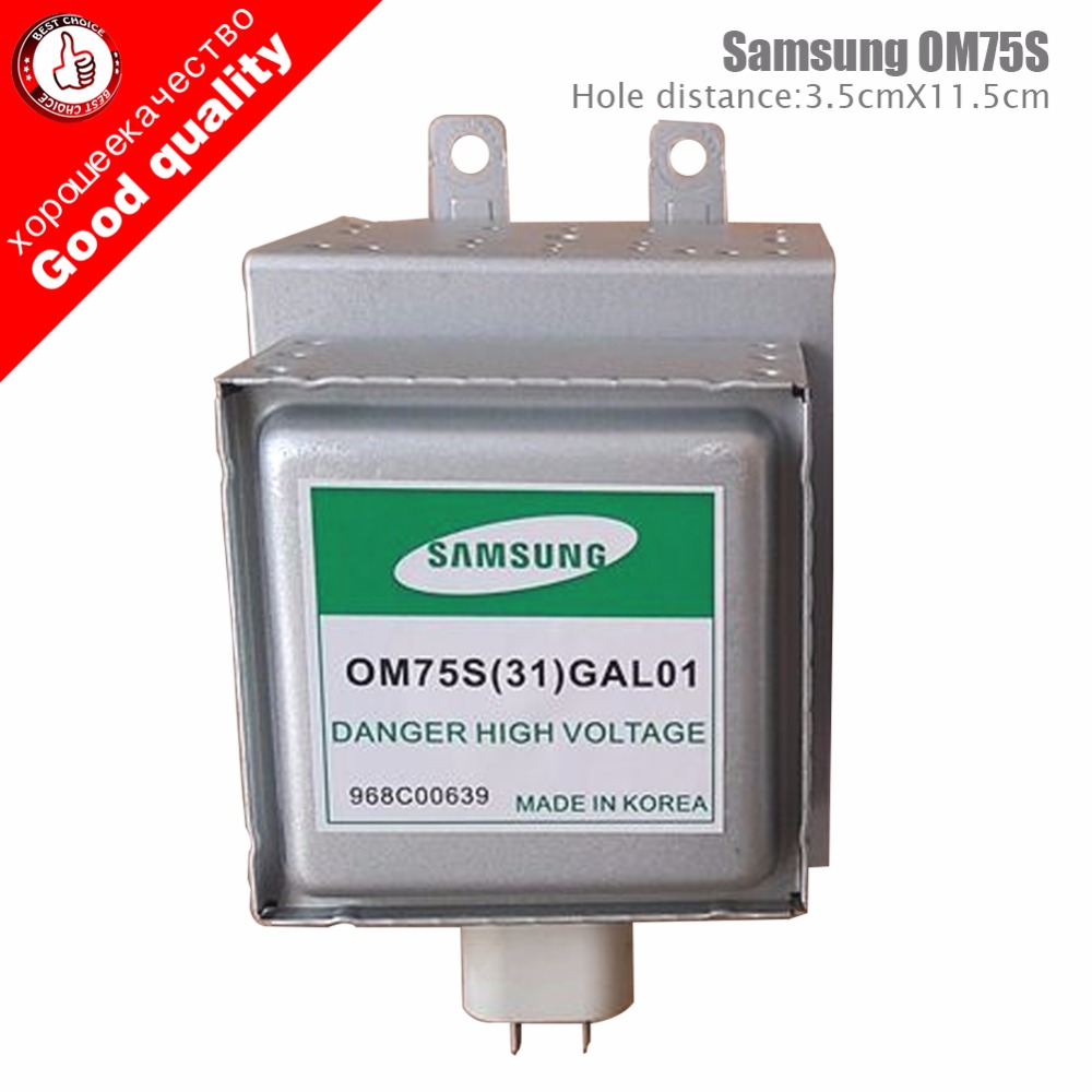 Microwave Oven Parts Samsung Magnetron Om75s 31