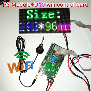 Image 4 - P3 Indoor Full Color LED Display Module,192mm x 96mm, 64*32 Pixels,SMD 3 in 1 RGB P3 LED Panel, P4 P5 P6 P10 Video LED Module