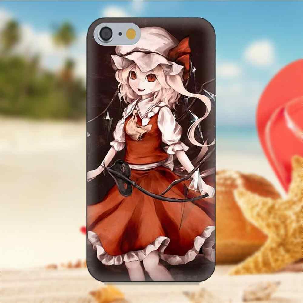 Touhou Project фландре Скарлет для iPhone 4S 5S 5C SE 6 S 7 8 Plus X Galaxy Note 5 6 8 S9 + большое ядро премьер Alpha мягкий чехол