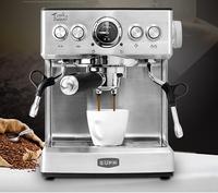 Chinaeupa espresso italiano máquina de café doméstico bomba vapor casa máquina café 19bar espuma leite aço inoxidável tsk 1837b escritório|Cafeteiras| |  -