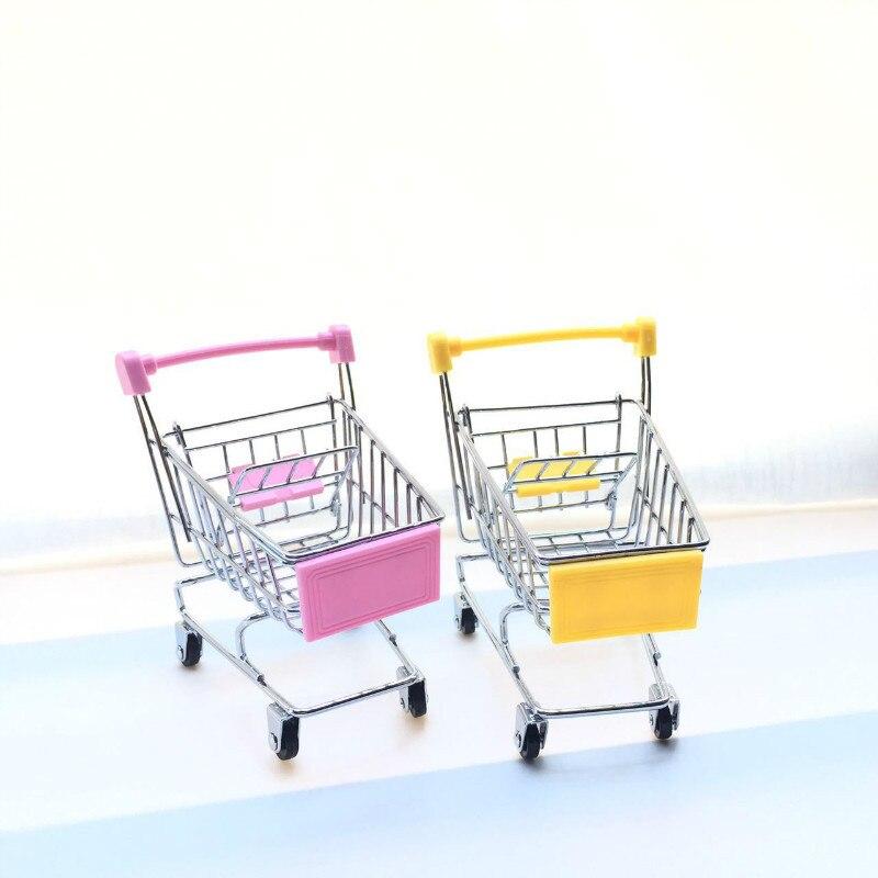 Mini Carrello Supermercato Handcart Favori Di Partito Multicolor Regalo Creativo Per Bambini Festa Di Compleanno Di Nozze Fai Da Te Decor Forniture