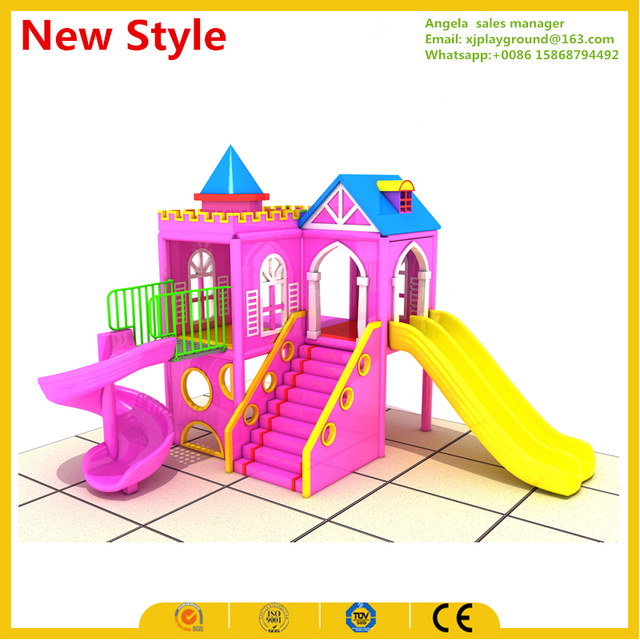 2017 New design small indoor playground for kids-in Playground from ...