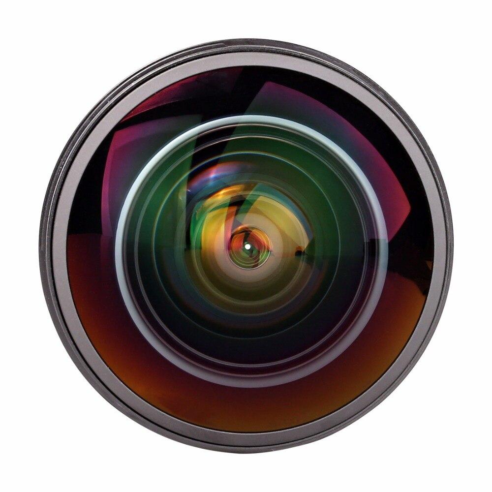 Meike 8mm f/3.5 Ultra HD fixe sans Zoom Fisheye objectif pour Canon EF-monture EOS rebelle 70D 100D 300D 500D 600D 650D 1000D XT XTi XS
