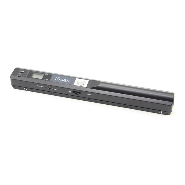 Portable scanner 900DPI JPG and PDF formate A4 book scanner Iscan mini handheld document scanner Free shipping