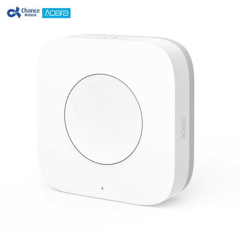 Aqara Smart Wireless Switch Key Biult in Gyro for mi home App Intelligent ZigBee Application Remote Control(China)