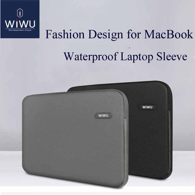 Сумка для ноутбука WIWU 13,3 14,1 15,4 дюймов водонепроницаемая сумка для ноутбука MacBook Air 13 чехол для ноутбука MacBook Pro 13 Чехол