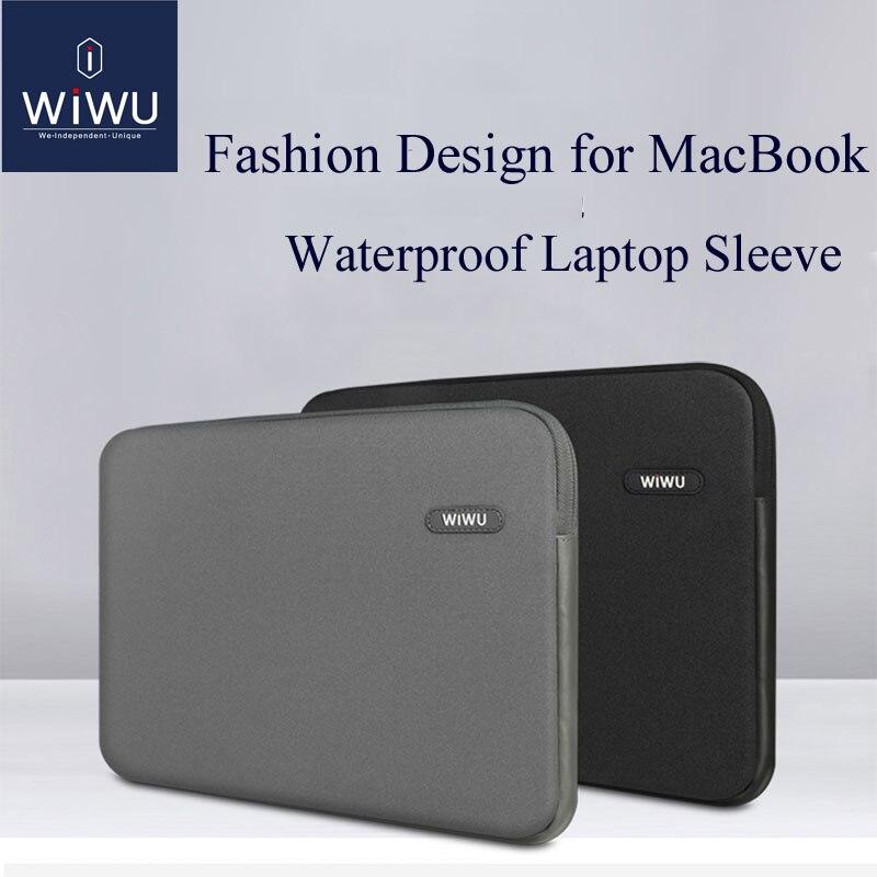 quality design e25b8 d9999 US $18.59 38% OFF|WIWU Laptop Bag Case 13.3 14.1 15.4 inch Waterproof  Notebook Bag for MacBook Air 13 Case Laptop Sleeve for MacBook Pro 13  Case-in ...