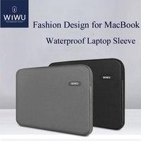 WIWU Laptop Bag Case 13.3 14.1 15.4 inch Waterproof Notebook Bag for MacBook Air 13 Case Laptop Sleeve for MacBook Pro 13 2016