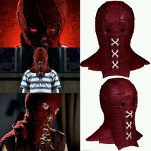 Red Hood Of Movie BrightBurn Kids Cosplay Costumes Scary Horror Mask Halloween latex Full Head Breathable Props