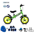 Высокое Качество CHESTAR 12 Дюймов Детские Баланс Велосипед С Тормозом И Высокоуглеродистой Стали Рама И EVA Колеса, SG Сертификации, 8 цвет