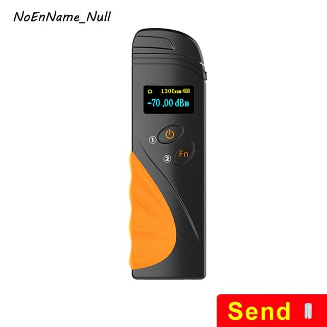 Handheld Mini Optical Power Meter fibra FTTH OPM Fiber Optical Cable Tester -70dBm~+3dBm SC/FC/ST Universal interface Connector