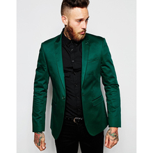 2017 Italian Design terno masculino Green Stain Men Suit Jacket costume homme Groom Tuxedos Mens Wedding Suits For Men Costume