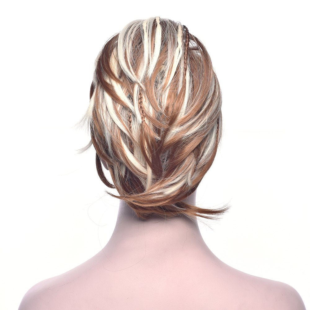Synthetic Extensions Soowee Curly Claw Ponytail Hairpieces Synthetic Hair Blonde Burgundy Clip In Hair Extensions Little Pony Tail Hair Roller