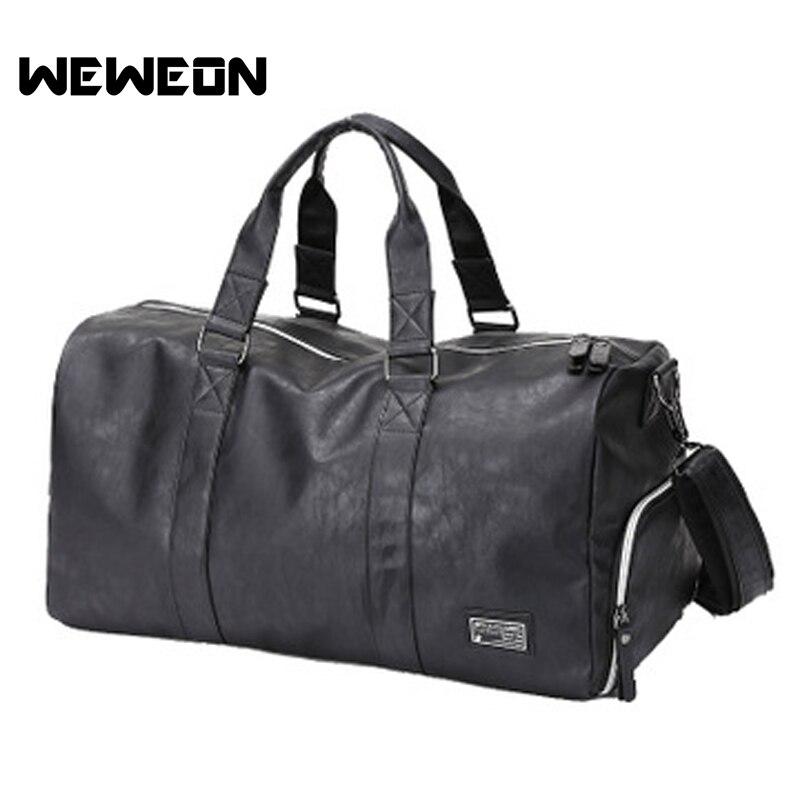2018 новый тренажерный зал спортивная сумка для мужчин женщин Фитнес Спортивный Рюкзак Multi функция путешествия/чемодан PU большой сумк