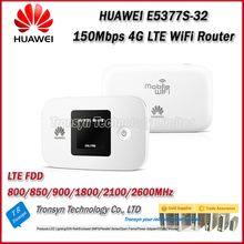 Original Unlock 150Mbps Huawei E5377 Portable 4G WiFi Router With Sim Card Slot And 1.45 Inch LCD Screen With 1750mAh Battery