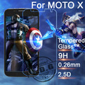 0.26mm 9H Explosion Proof Anti scratch LCD Tempered Glass Film For Motorola Moto X XT1058 XT1060 Screen Protector Film