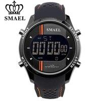 SMAEL LED Digital Uhren Mann Sport Herrenuhr Smart Uhren Freizeitmode Auto Datum Männer Elektronische Armbanduhr Freies Verschiffen