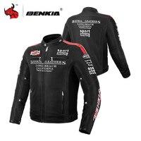BENKIA мотоциклетная куртка мужская Мотоциклетная Куртка Мото Защитное снаряжение мотоцикл полный корпус Броня осень зима мото одежда