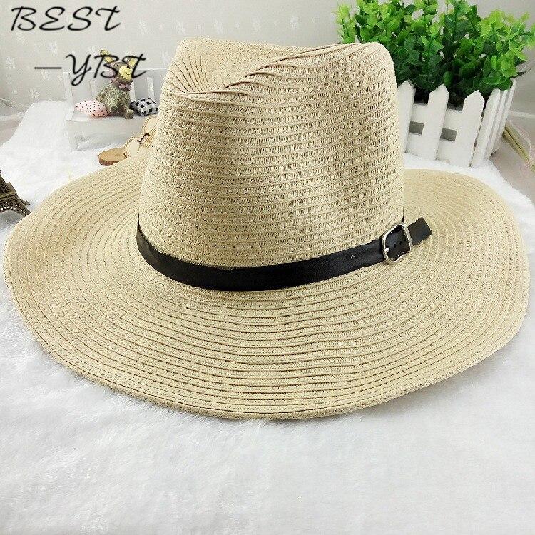 e3b7db1aa043e Cowboy Men s Spring Summer beach big along the sun folding sun canopy cool  hat sun hat