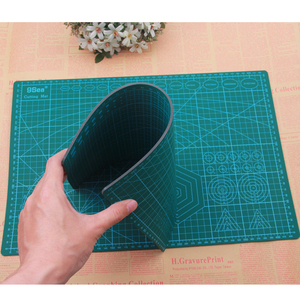 Image 3 - A3 A4 A5 PVC Cutting Mat Pad Patchwork Cut Pad A3 Patchwork Tools Manual DIY Tool Cutting Board Double sided Self healing