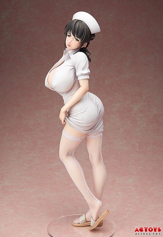 Mami Akabane 1/4 Scale Painted Figure Nurse Skirt Sexy Figurine Toys FREEing 110 Sanfujinka Shikeishuu Byouin Jack