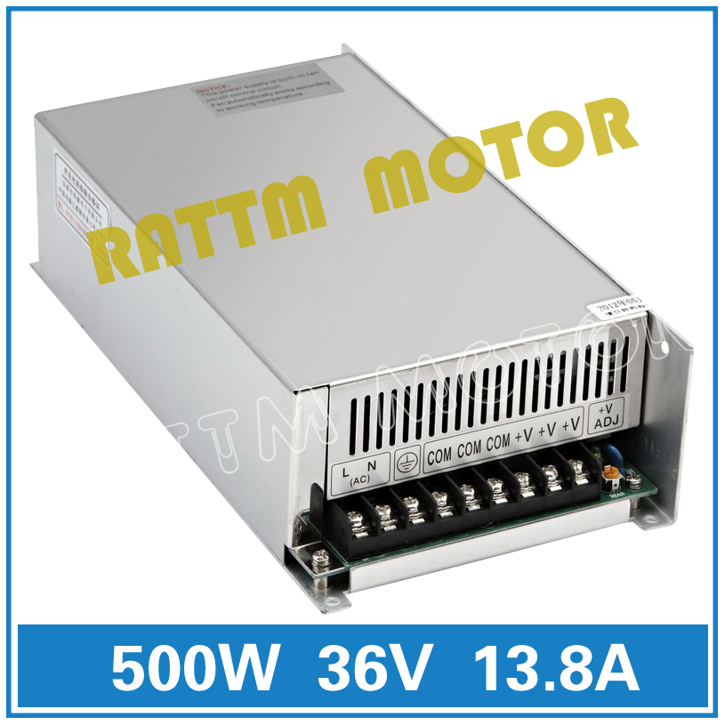 500W 36V Switch Power Supply! CNC Router Single Output Power Supply 500W 36V Foaming Mill Cut Laser Engraver Plasma