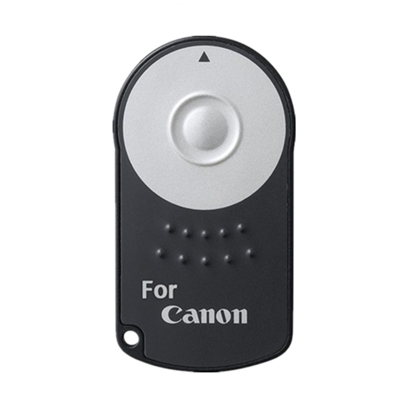 FGHGF Hot RC-6 RC6 IR Infrared Wireless Remote Control Camera Shutter Release For Canon EOS DSLR 5D Mark II 500/550/600/650 dls rc6 2