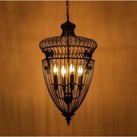 Люстра Винтаж современные лампы Тенты металлический подвесной светильник Лампы для мотоциклов с Лампы для мотоциклов мастерил страны амер