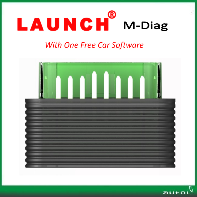 IN STOCK!!! 100% Original Launch M-Diag Lite Plus for IOS and Android OBDII Diagnostic Tool better Easydiag with free shipping