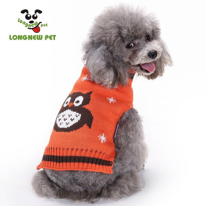 Hund Pullover Häkeln Eule Muster Großhandel Hund Jumper in Hund ...