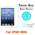 Tempered Glass 9H  Arc 0.3mm 2.5D  For Apple ipad mini 1/2/3 Tablet PC Screen Protect Cover