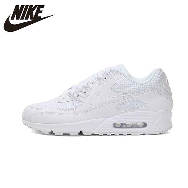 Nike AIR MAX 90 WMNS zapatos esenciales para correr para mujer, zapatillas deportivas de deporte al aire libre transpirables originales para mujer