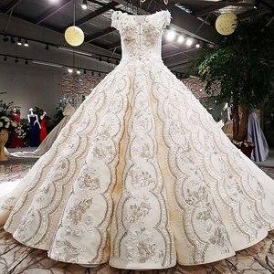 Image 2 - AIJINGYU חתונה שמלת נסיכה צנוע יבוא שמלות לפרוע קנדה סקסי עם מחירים צנוע כלה שמלת יותר חתונה שמלות