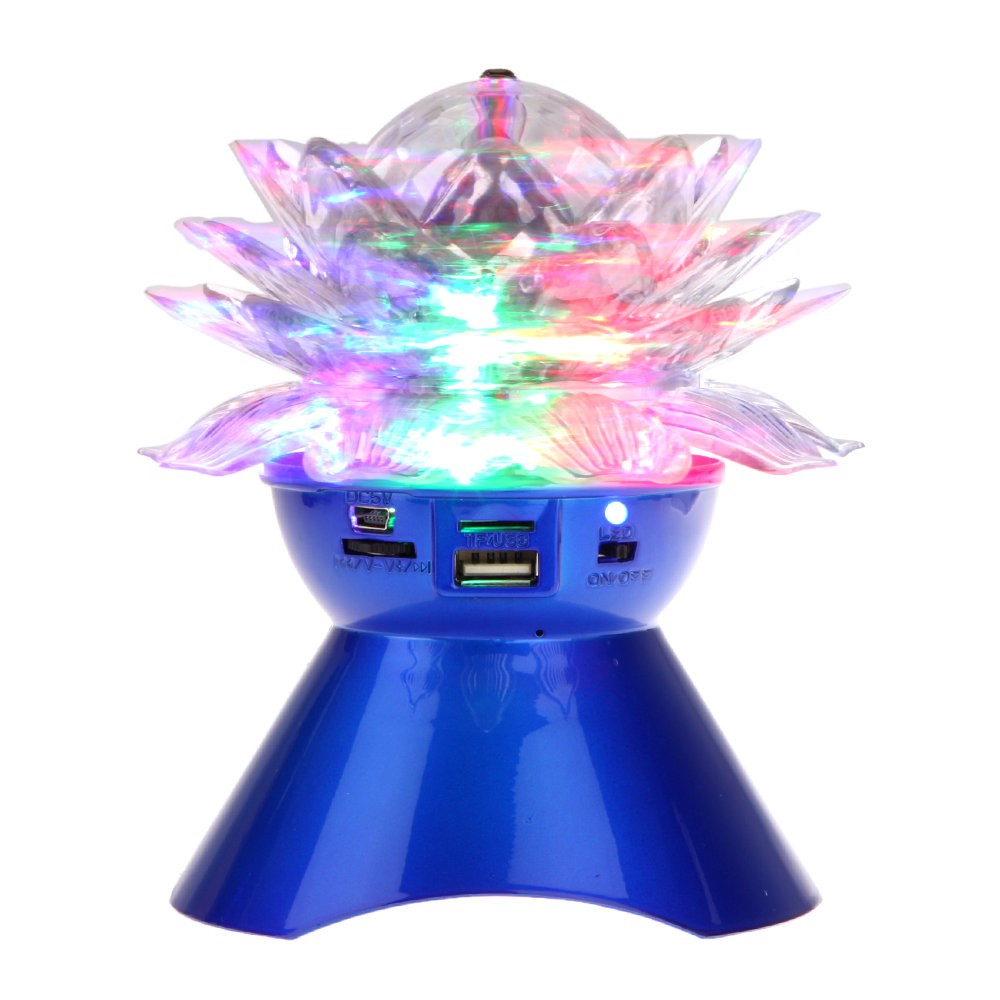 iRULU HB092 Bluetooth Speaker Strong Bass Stereo Music Audio Player Wireless Speaker FM & TF card LED colorful lights