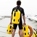 Nueva Portátil 25L 35L 60L PVC Bolsa De Almacenamiento A Prueba de agua Bolso Seco Kayak Canoa Rafting Ultraligero Amarillo Equipo de Viaje