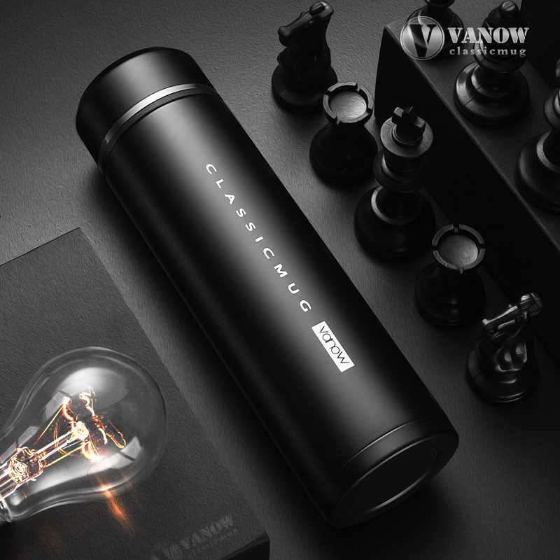 Stainless steel thermos water bottle portable <font><b>hydro</b></font> <font><b>flask</b></font> simple thermo kettle 500CC