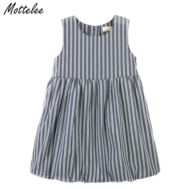 02a45a465034c US $6.99 |Mottelee Baby Girls Dress Summer Striped Dresses Toddler Cotton  Clothing Newborn Party Dress Infant Casual Clothes for Girl-in Dresses from  ...