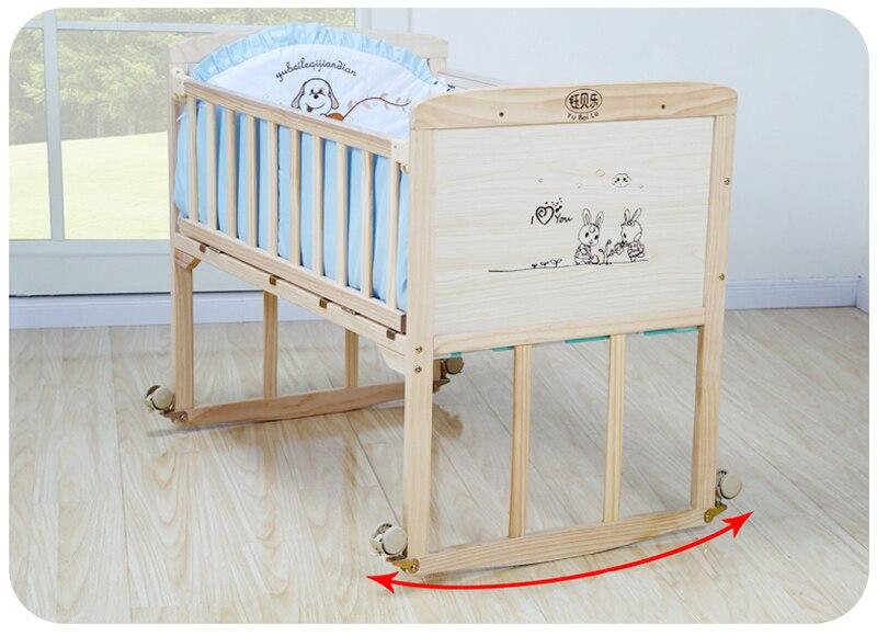Bébé berceau pare-chocs doux respirant coton bébé berceau lit protecteur pour les enfants au lit ensemble de literie pour les enfants - 5