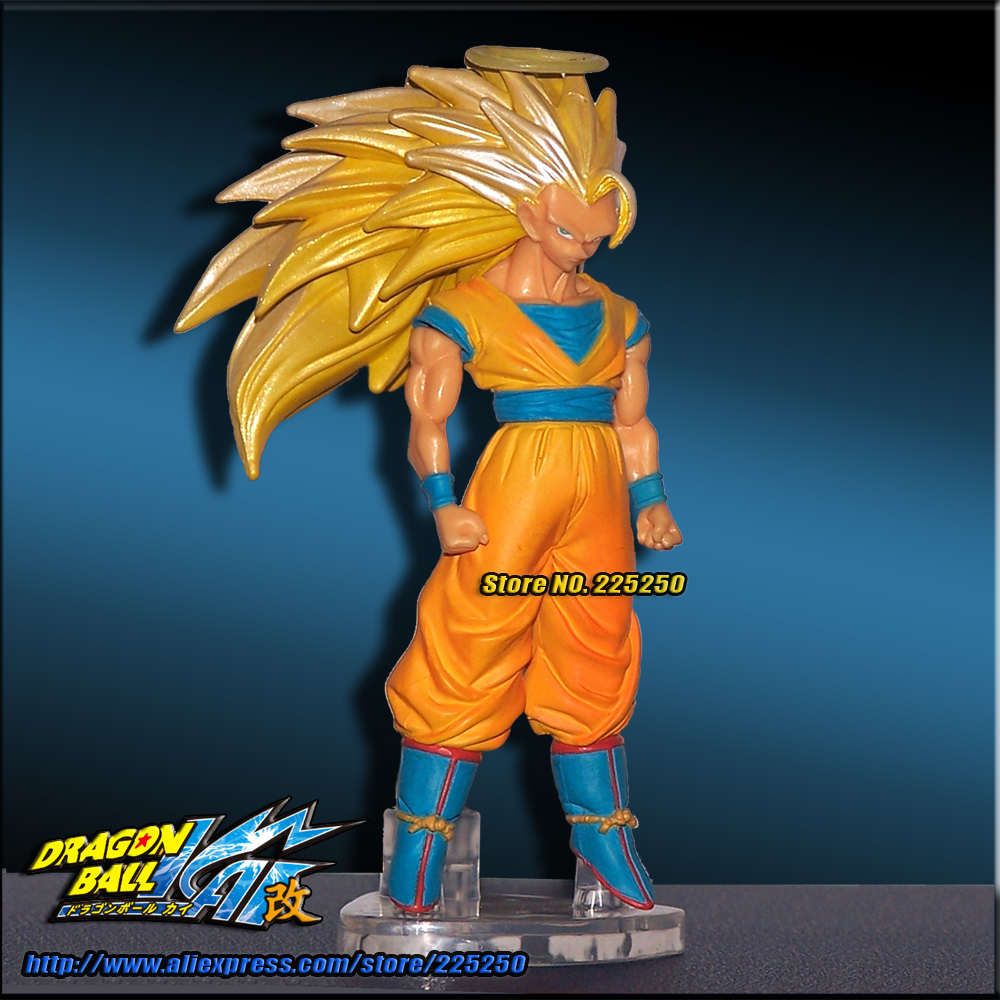 Japan Anime DRAGONBALL Dragon Ball Z/Kai Genuine Original BANDAI Gashapon PVC Toys Figure HG 10 Son Goku Super Saiyan 3 nd pre sale new genuine funko pop dragonball z super saiyan goku3 75 inch vinyl dolls dragon ball vinyl figure free shipping
