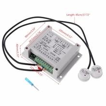 Интеллектуальный контроллер высокого и низкого уровня жидкости с 2 бесконтактными датчиками автоматический контроль уровня жидкости My02 19