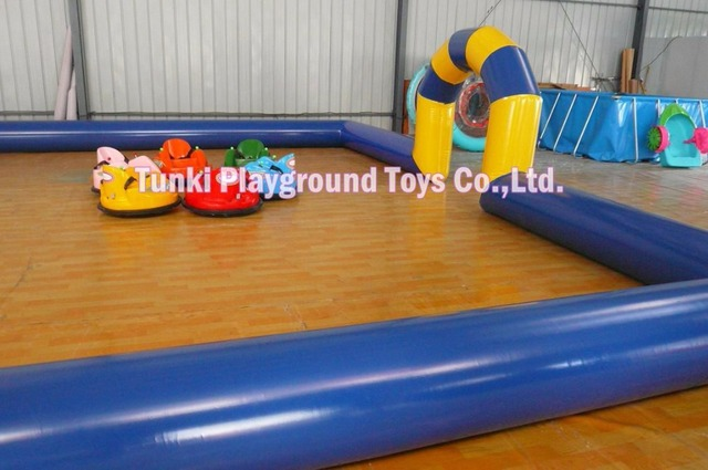 Amusement Park Kids Ride Inflatable Ufo Bumper Car Chinese Bumper