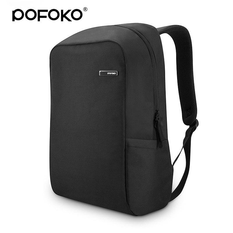 POFOKO 14 inch Laptop backpack waterproof Travel Outdoor Casual Sports bag for men women bag Apple Macbook Air Pro Retina 13