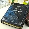 Cool fashion magic book cuaderno espiral de tapa dura de la vendimia B5 diario 100 páginas hojas línea de oficina de la escuela regalo