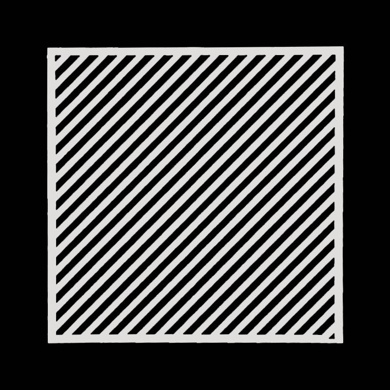 15*15 Stripes Layering Stencils Drawing Color Spray Stencil DIY Scrapbook Photo Album Decorative Embossing DIY Card Crafts