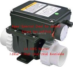 LX H20-RS1 2kw Elektrische spa heizung für badewanne und whirlpool spa pool teich, Einfach zu installieren!