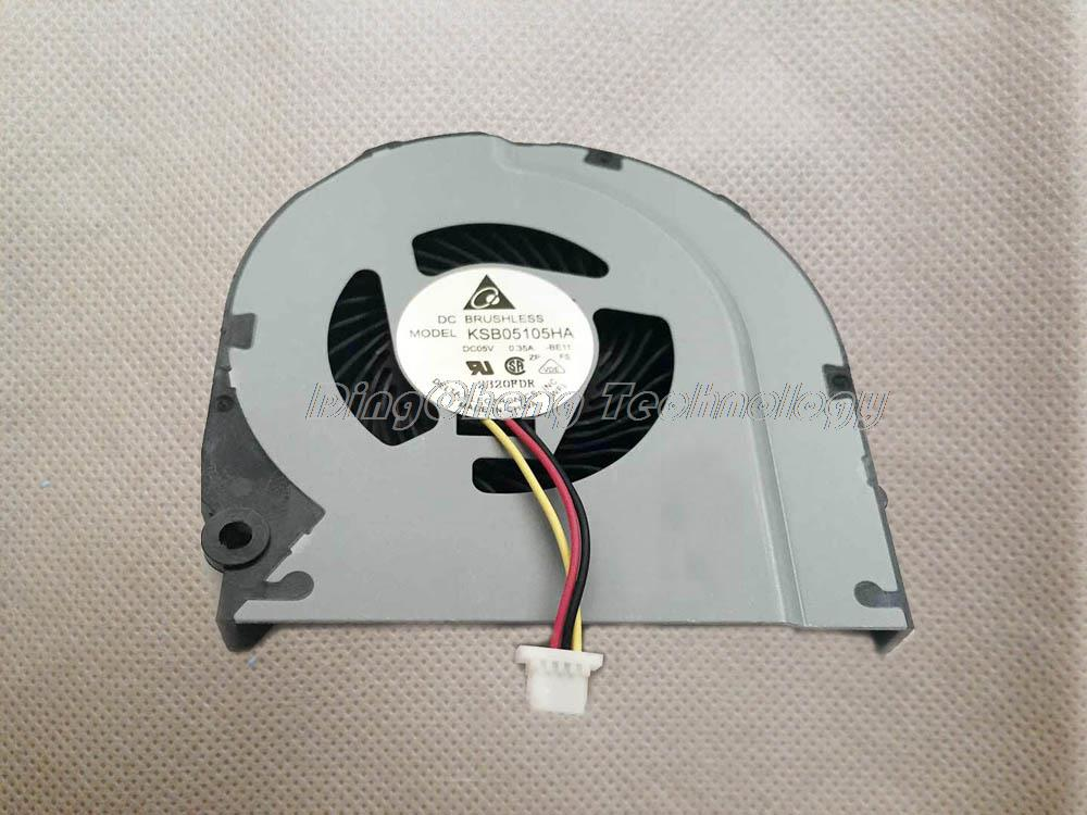 HOLYTIME FOR HP DM4-<font><b>3000</b></font> DM4-3024TX DM4-3025TX Original and New CPU Cooling fan 669935-001 669934-001 KSB05105HB 100% fully test image