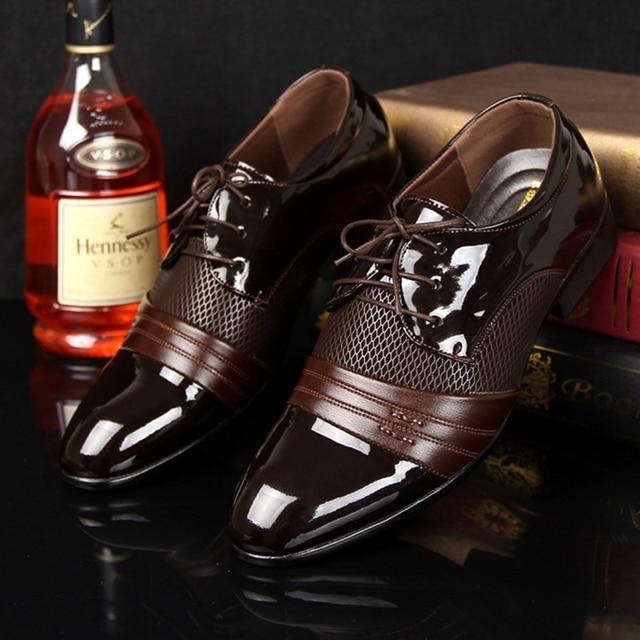 Noopula Men s European Leather Shoes Famous Brand Luxury Famous Shoes For  Oxford Platform Luxury 2017 Man Casual Designer 3c76c00ec71
